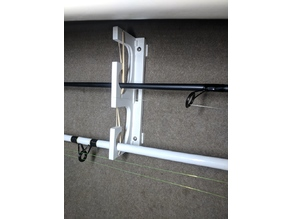 Collapsible Rod Holder