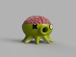 #3DTakoTuesday Brain