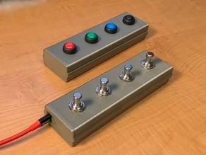 USB MIDI Pedal Box