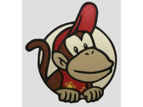 Badge DiddyKong MKT