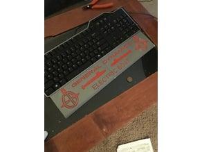 Custom Palm Rest (Dell Keyboard)