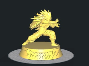 Goku Super Saiyan 3 with Base