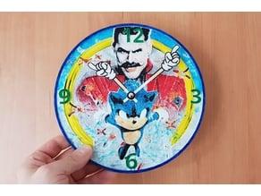 Reloj Sonic 3D