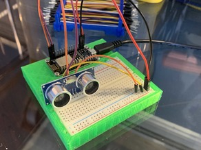 ESP NodeMCU / D1 Mini - Breadboard Mount for Home Automation Prototyping and Experimentation