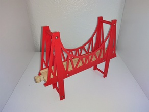 Reproduction Bridge for Wooden Train Set
