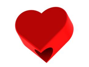 Pencil cap Heart