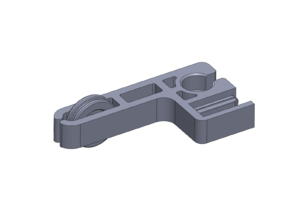 ENDER 3 / CR10 FILAMENT GUIDE & Z-AXIS SUPPORT COMBO - 2020 Extrusion Mount - No Support Material - No Disassembly Required