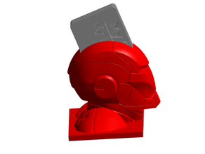 Ironman Business Card Holder
