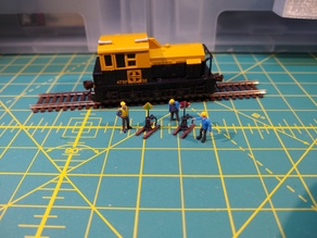 N Scale Switch Stands