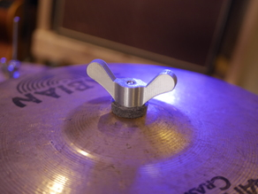 cymbal hardware wing nut