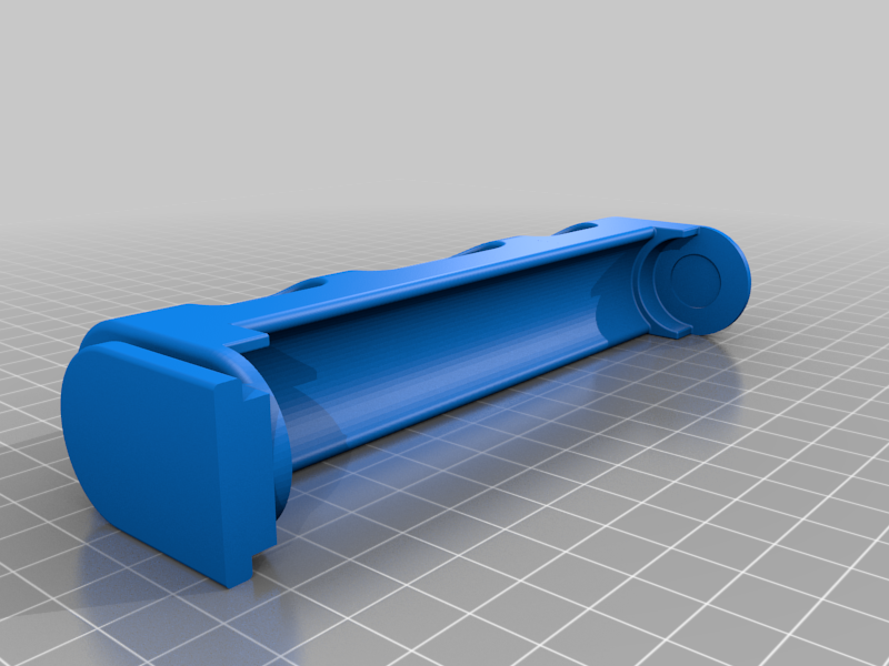 Filler - The Customizable Filament Holder that fills your printer! + 20mm longer