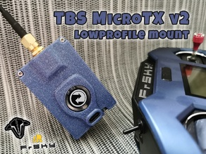 TBS MicroTX v2 lowprofile for FrSky XLite