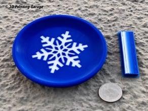Coaster Winter (Snowflake) - multicolor