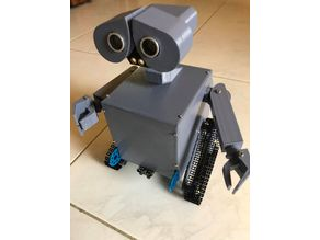 Wall-E body for Mbot