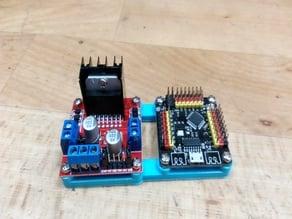 Arduino NANO/MICRO Strong & L298N module mount