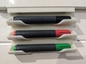 Dry Erase magnetic pen holder