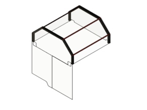 BLV Cube Enclosure / Housing / Cover
