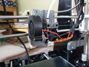 Anet A8 E3D V6 Bowden Mount (With Nut Inserts)