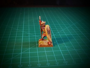 Saracen spearman 28mm (no supports needed)