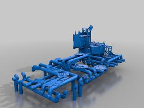 refinery 3 - orks - terrain