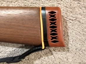 Shotgun Stock Buttplate Sling Adapter