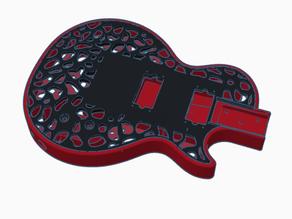 3D guitar LP style
