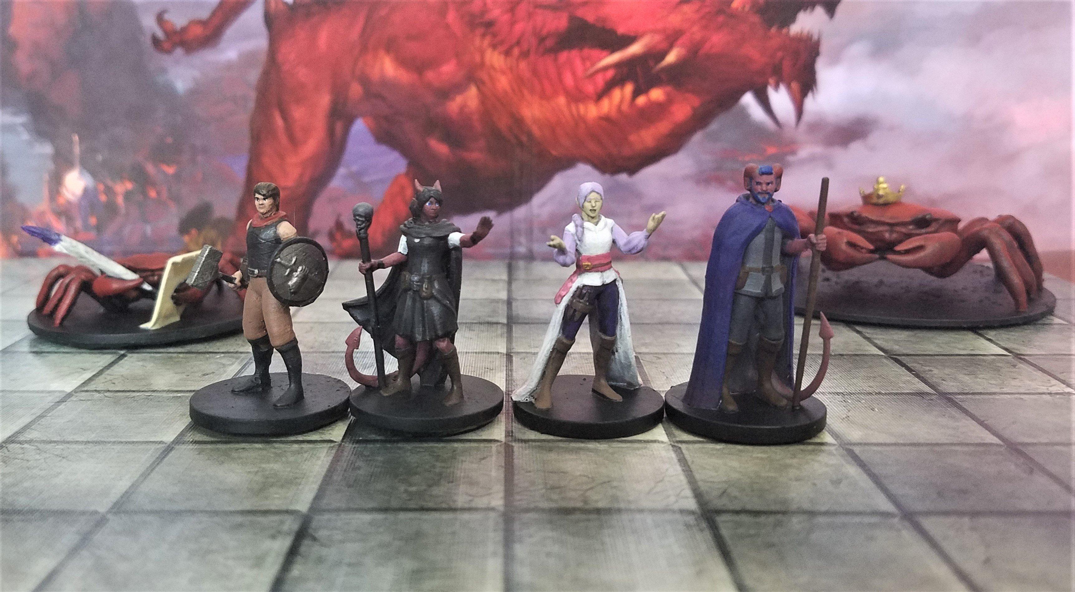 D&D Presents: T.O.R.C.H Characters!