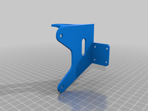 Z Axis plate for Direct Drive Extruders  Remix BLV Ender 3 pro