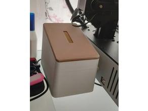 Box for 3D-printed trash or trashcan