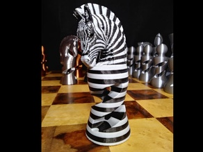 Zebra Knight (Multi Color Torture Test)