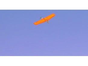 Plank Flying wing 36-48 inch kfm3 foam wing.