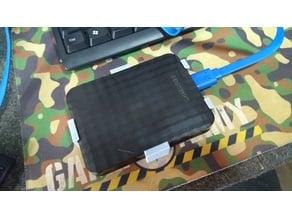 Samsung M3 HDD - DIN Rail Holder
