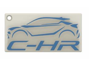 toyota c-hr key-chain