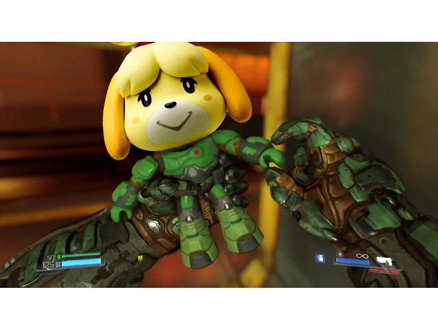 Isabelle Doomguy By Pansito Thingiverse