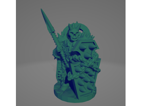 Undead Knight With Spear