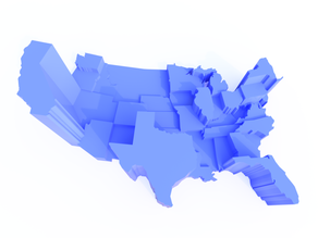United States House of Representatives Map