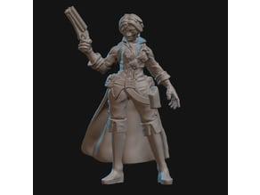 Pirate Gunslinger Miniature