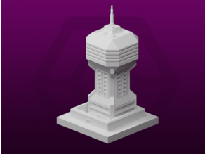 GreebleCity Cyberpunk: Watchtower