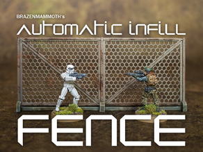 Automatic Infill Fence