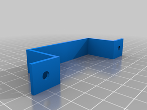 Customizable desk mount for cables, PSU or USB hubs (or handlebar)