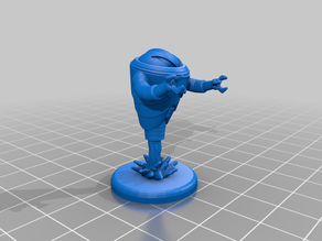 Hover Robot - Masters Of The Universe - Miniatures