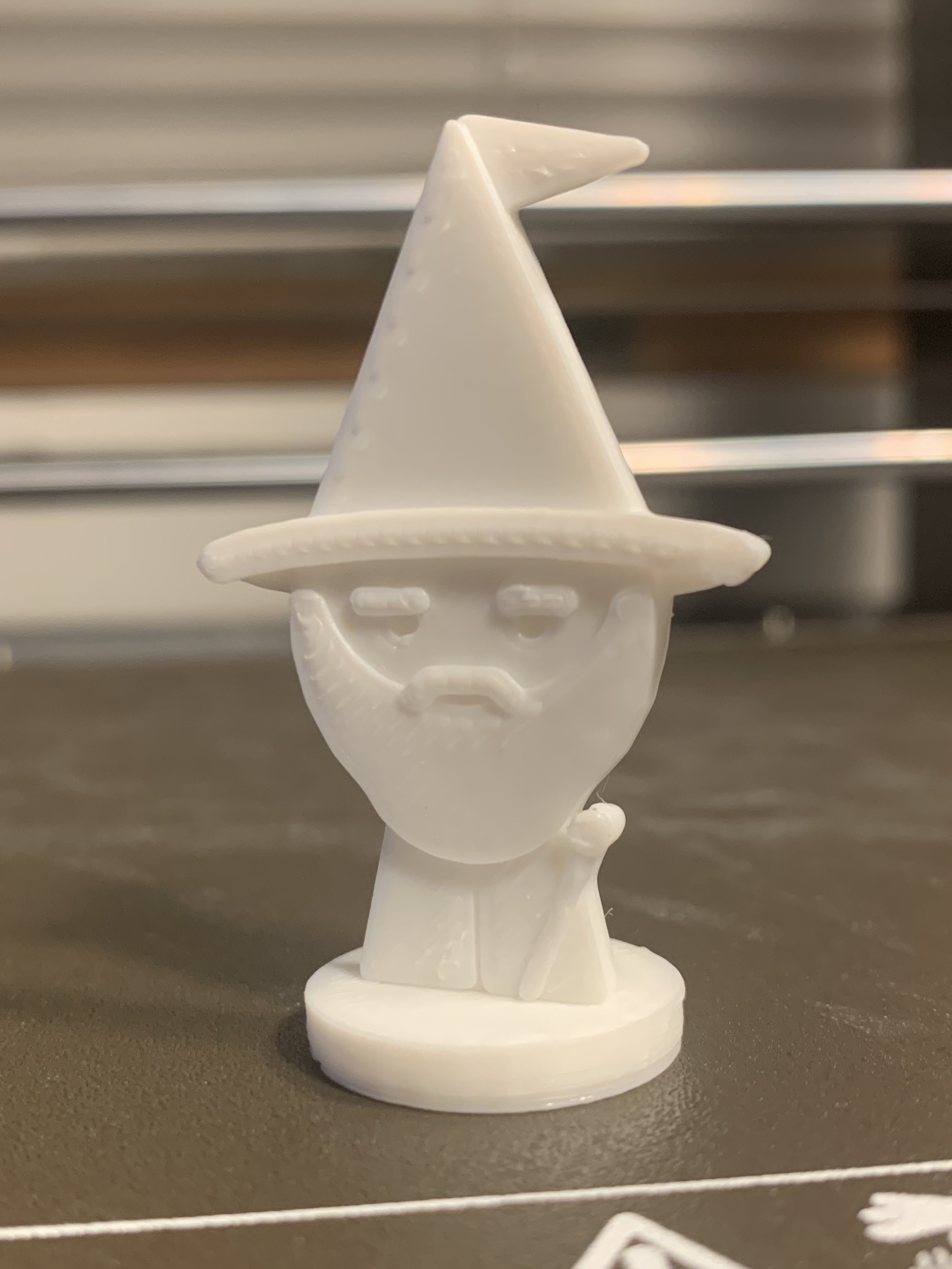 Simple Mini D&D Wizard