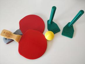 Mini table tennis (ping-pong) home set