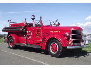 American LaFrance Series 600 Fire Truck 1941