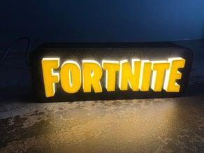 FORTNITE Logo Lamp