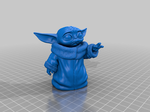 Baby Yoda without base