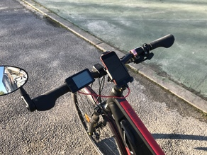 Support Iphone sur Btwin Riverside 500