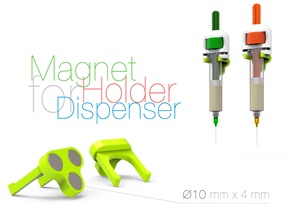 Magnet Holder for Dispenser
