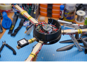 Everycopter multirotor drone side wall fairing