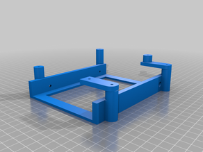"""3.5"""" HDD Mount for the Atomic Pi"""